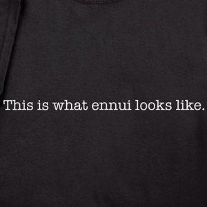 Ennui-tee-shirt