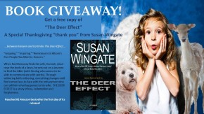 BOOK GIVEAWAY-TheDeerEffect-Thanksgiving